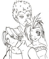 Legend of Legaia Trio by RadioactivePopTart