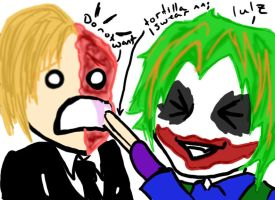 -Jokers a douche- by DeadlyDie