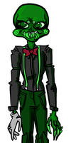 ugly adn stupid alien girl by awesome-pants
