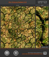 Dry Ground Pattern 2.0 by Sed-rah-Stock