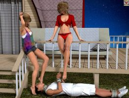 Younger sister very like humiliate MY boyfriend 2 by kirgen71