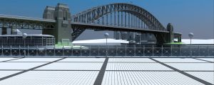 Sydney Harbour WIP 9 by advanRE7