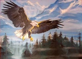 Bald Eagle by dthehippie