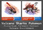 [Contest] Volcanic environment: sharks by kunnykun