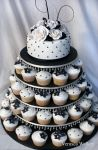 Shabby Chic Wedding Cake by Verusca