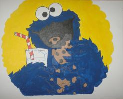 Cookie Monster by tracyd1169