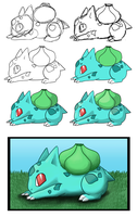 001 Bulbasaur by Acoyph