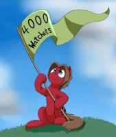 4000 Watchers by otakuap