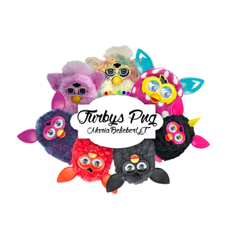 +PackPng 002: Furbys MBYT by MariaBelieberYT