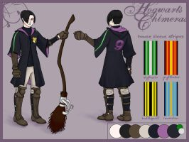 Hogwarts Chimeras Design Sheet by STracyArt
