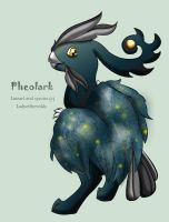 Night sky Pheolark - CLOSED by ladyofthewilds