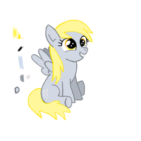 Cute Lil' Derpy WIP by Royal-Flush-Pony