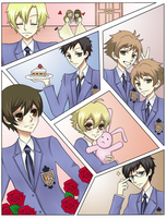 Ouran Host Club by umaichococookie