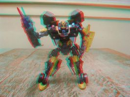 Stealth Bumblebee 3D Take 2 by LittleBigDave