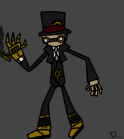 Steam-punk Martin The Puppet by combine345