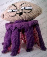 Tentacle Stewie Tribute Doll by voxmortuum
