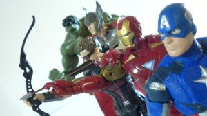 AVENGERS ASSEMBLE by LORDNEPHALIM