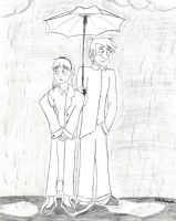 Caught in the Rain by Trumpeteer34