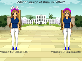 Which Version of Kumi is Better? by DylanYesKumiNo