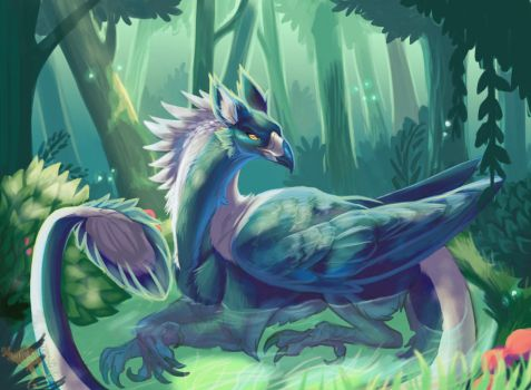 pond by Ink-aroo