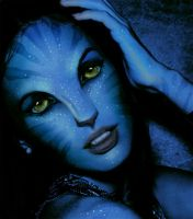 Megan Fox as navi from Avatar by discipleneil777