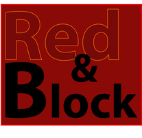 Red and Block Logo by nicksnack