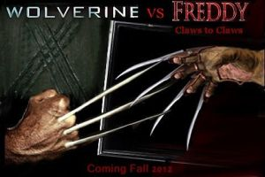 wolverine vs freddy krueger by Tony-Antwonio