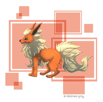 Flareon by iRaynebow