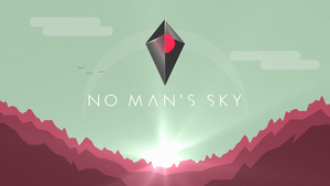 No Man's Sky wallpaper red planet by Blue-Staple-Studios