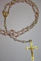 Pink Rosary by Shacchan