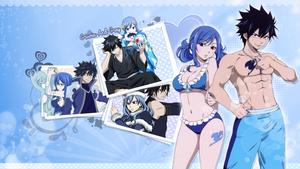 Gray and Juvia Wallpaper by KimmyPeaches