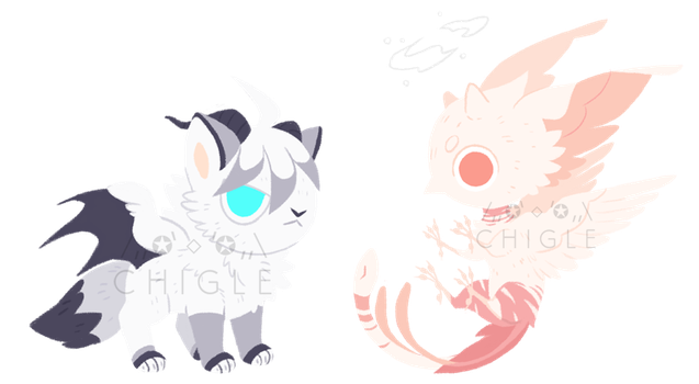 [C] Cy and Lulu minis by Chigle