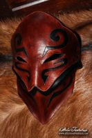 Fantasy leather mask 'Orounn' by AtelierFantastique