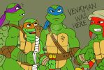 TMNT: Dinosaurs Seen In Sewers by xero87