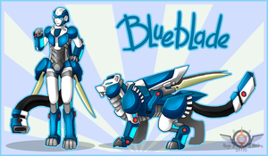 TF OC - BlueBlade by Azyo-Mecha