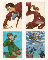 HP playing cards by zumart