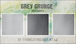 Grey Grunge Textures by twinkletwilight