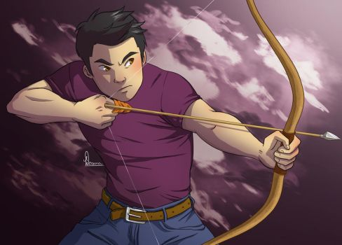 Frank Zhang in action by VanillaDeonna