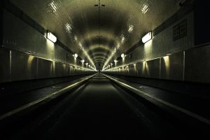 old elb tunnel by Fab1Fotodes1gn