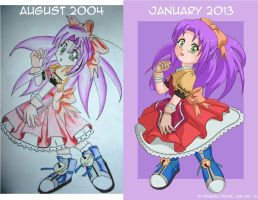 Then and Now by Resa11