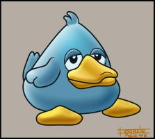 Game Character Design - Duck by floopate
