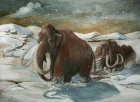 Wooly Mammoth final by Sedeslav