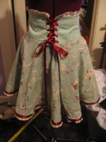 Alice in Wonderland Skirt by Dye-Another-Day