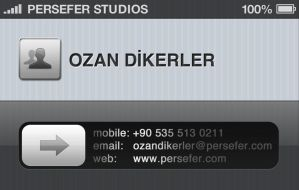 Persefer Studios Business Card by persefer