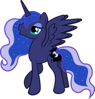 Snowbound Luna by TheShadowStone
