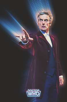 Retro 80s Doctor Who Poster by AbelMvada