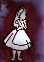 Alice im Wunderland by marveja