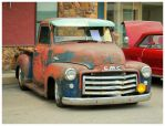 A GMC Rat Rod Truck by TheMan268