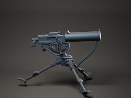 M101a Machine gun by sculptorwanted