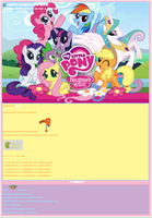 My Little Pony Friendship is Magic Journal CSS by AESD